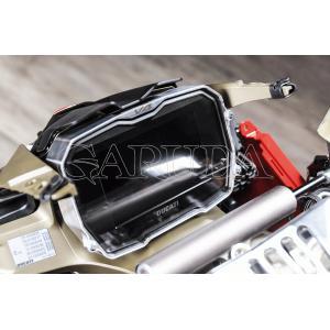 ドゥカティ STREETFIGHTER V4S<ストリートファイターV4S>:Bonamici Racing(ボナミチレーシング)ダッシュボード・プロテクター|garudaonlinestore