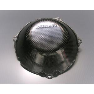 SPEEDCARBON クラッチカバー DUCATI 乾式クラッチ車用ストラーダタイプ garudaonlinestore