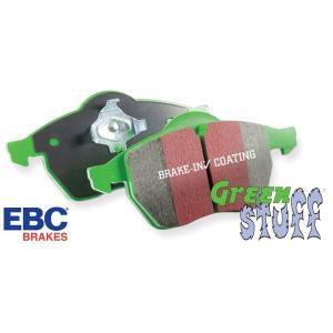 アルファロメオ 147/156/ ランチア デルタ 等用フロントブレーキパッド【DP21061】EBC・グリーンスタッフ ブレーキパッド ALFA ROMEO156/LANCIA DELTA|garudaonlinestore