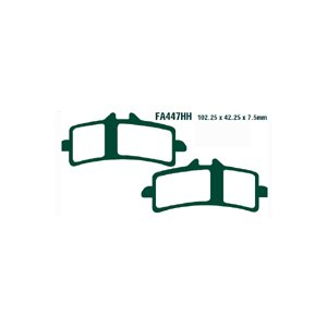 EBC<イービーシー>ブレーキパッド BREMBO 対向4ポットラジアルマウントキャリパー用 HHタイプ  FA447HH|garudaonlinestore