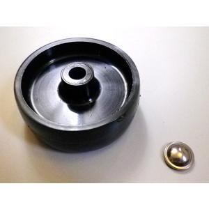 FGスタンド用 車輪<金具付き>  1個 FG製(イタリア) garudaonlinestore