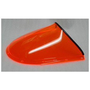 DUCATI 748/916/996/998 用 フロントカウル・スクリーン 蛍光オレンジ FG製(イタリア)|garudaonlinestore