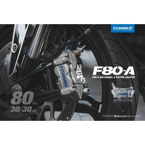 Frando F80A 4POTラジアルマウントキャリパー【正規輸入品】|garudaonlinestore|02