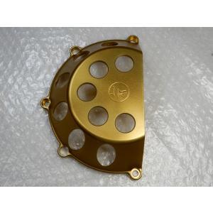 DUCATI クラッチカバー CUTTING<カッティング> ゴールド RCMレーシング<・アウトレット>|garudaonlinestore