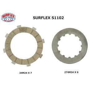 S1102 / SURFLEX( サーフレックス)  / DUCATI湿式クラッチシングルデスモエンジン用 クラッチ・キット garudaonlinestore