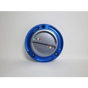 TWMタンクキャップ/DUCATI 5H用/ブルー・チタン/スクリューtype|garudaonlinestore