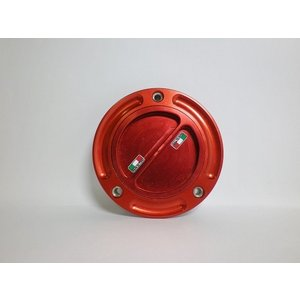 TWMタンクキャップ/DUCATI 5H用/レッド/スクリューtype|garudaonlinestore