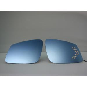 BMW 3シリーズ(F30) / 5シリーズ(F10.F11) / 7シリーズ(F01 / F02) 用LED付きブルーミラー【BBM-13】 GARUDA BLLED MIRROR|garudaonlinestore