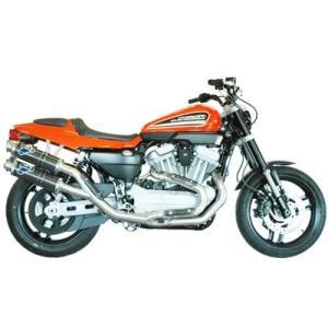 テルミニョーニ ハーレーダビッドソン XR1200用 フルエキゾースト2X1X2 ステンパイプ・カーボンサイレンサー(HD02094CR) TERMIGNONI  HARLEY ステンレス garudaonlinestore