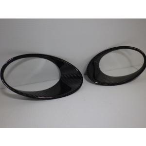 romeoferraris ABARTH 500  カーボン フロントライトフレーム|garudaonlinestore