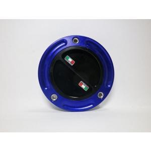 TWMタンクキャップ/DUCATI 5H用/ブルー・ブラック/スクリューtype|garudaonlinestore