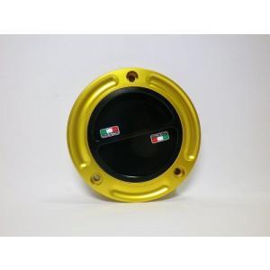 TWMタンクキャップ/DUCATI 5H用/ゴールド・ブラック/スクリューtype|garudaonlinestore