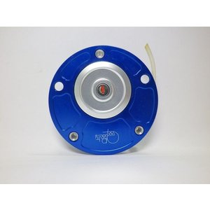 TWMタンクキャップ/DUCATI 5H用/ブルー・シルバー,ロゴ/ロックtype|garudaonlinestore