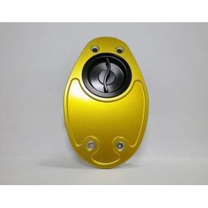 TWMタンクキャップ/DUCATI 999系/ゴールド・ブラック/クイックTYPE garudaonlinestore