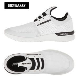 SUPRA/スープラ ランニングシューズ FLOW RUN フローラン WHITE...