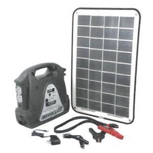 *CV21*CVLM-H12T-SPP/SG3500 LED ソーラーパワーパック 太陽電池パネル・...