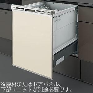 *パナソニック*QSS45RD6SD 食器洗い乾燥機 幅450mm ドアパネル仕様 シルバー色〈送料・代引無料〉 gas