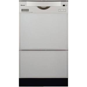 ☆〈3年保証0円/工事付なら5年〉*リンナイ*食器洗い乾燥機ビルトインタイプ〈スライドオープンタイプ〉取替用 RKWR-C401C-SV gas