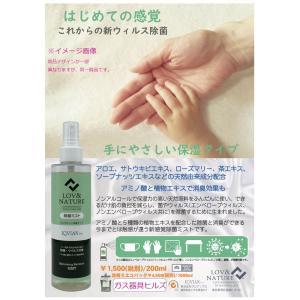除菌スプレー 手 携帯 日本製 未来プロミスト 200mm 保湿タイプ ノン アルコール 手指用 ウイルス除去|gaskigu-hills|02
