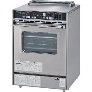 リンナイ 業務用ガスオーブン(コンベック)中型・1枚扉タイプ 庫内容量52L 据置型 RCK-20AS3|gaskigu