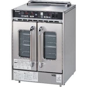 リンナイ 業務用ガスオーブン(コンベック)中型・観音扉タイプ 庫内容量52L 据置型 RCK-20BS3|gaskigu