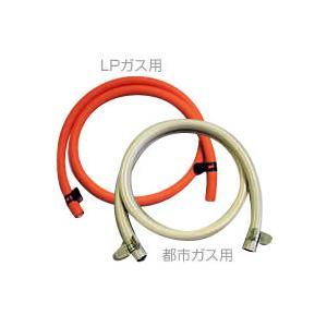 ゴムホース2m(内径9.5mm)+バンド [ガスコンロ/ガス炊飯器/ガスオーブン等の接続に]|gaskigu