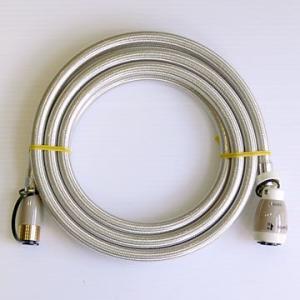 ガスコード3m [タイマー付きガス炊飯器・ガスファンヒーター等の接続に]
