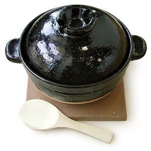 炊飯土鍋「伊賀焼かまどさん」2合炊き CT-03|gaskigu