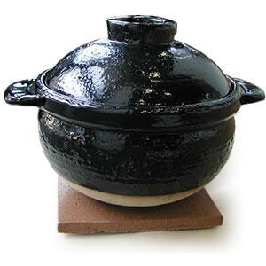 炊飯土鍋「伊賀焼かまどさん」5合炊き CT-50|gaskigu