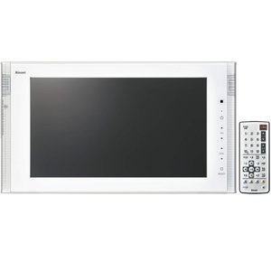 リンナイ 16V型地上・BS・110度CSデジタルハイビジョン浴室テレビ DS-1600HV-W ホワイト|gaskigu