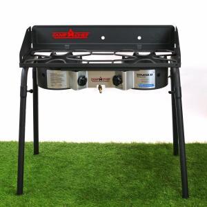 Camp Chef EXPLORER 2X 2バーナーBBQグリル 屋外専用/LPガス専用 EX60FP(J)  [国内正規品] キャンプシェフ*山梨倉庫出荷*|gaskigu