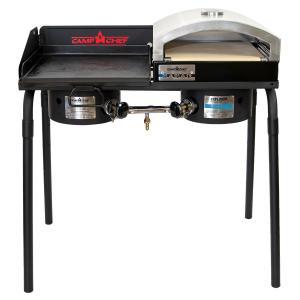 EXPLORER本体に、グリドルとピザオーブンをプラスしたお得なセットです。鉄板での料理をしながら、...
