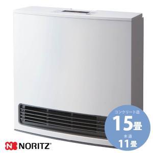 ノーリツ ガスファンヒーター GFH-4006S-W5 スタンダード 11-15畳用 スノーホワイト [都市ガス プロパンガス] 《配送タイプS》ガス暖房の画像