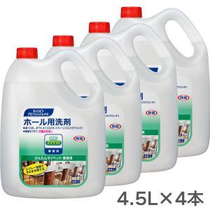 花王プロシリーズ かんたんマイペット 業務用 4.5L×4本|gaskigu