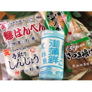 小田原かまぼこ詰め合わせ さつまあげ・ちくわ他 練物5種 お楽しみセット 杉兼商店|gaskigu