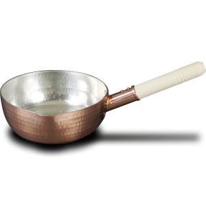 中村銅器製作所 銅行平鍋 18cm [銅なべ]|gaskigu