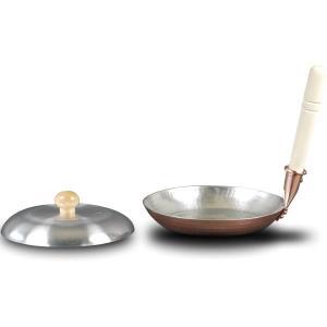 中村銅器製作所 銅親子鍋 (蓋付き) [銅なべ/親子鍋]|gaskigu