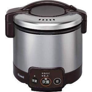 リンナイ ガス炊飯器 こがまる RR-030VM(DB) 電子ジャー付/ダークブラウン|gaskigu