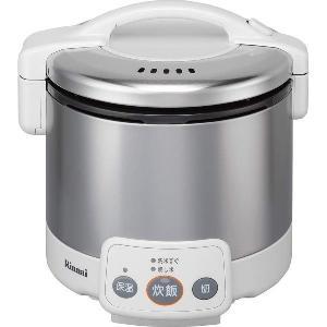 リンナイ ガス炊飯器 こがまる RR-030VM(W) 電子ジャー付/グレイッシュホワイト|gaskigu