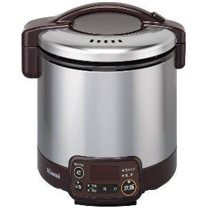 リンナイ ガス炊飯器 こがまる RR-030VMT(DB) 電子ジャー・タイマー付/ダークブラウン|gaskigu