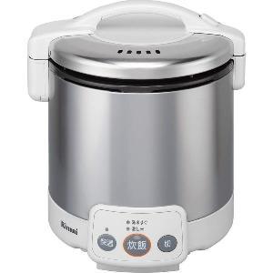 リンナイ ガス炊飯器 こがまる RR-050VM(W) 電子ジャー付/グレイッシュホワイト|gaskigu