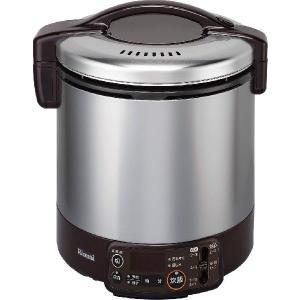 リンナイ ガス炊飯器 こがまる RR-100VMT(DB) 電子ジャー・タイマー付/ダークブラウン gaskigu