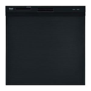 リンナイ ビルトイン食洗機 取替用 スリムデザイン ブラック RSW-404A-B [80-7447]|gaskigu