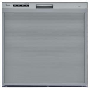 リンナイ ビルトイン食洗機 コンパクトタイプ RSW-C402C-SV [80-7714]《特定保守製品》|gaskigu