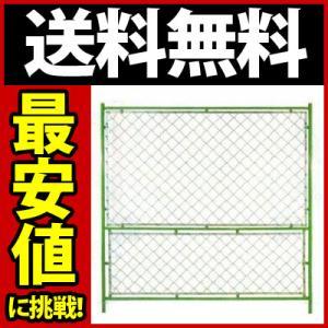 送料無料(2枚セット)ガードフェンス オールネット 緑 W1800*H1800 gate