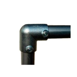 単管接続金具 パイプL型つなぎ S-4-2L-90 ジョイント工業|gaten-ichiba