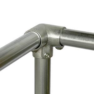 単管接続金具 パイプY型つなぎ S-5-3Y ジョイント工業|gaten-ichiba