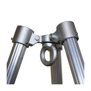 三脚ヘッド 3P-48.6 本体耐荷重1.5t ジョイント工業|gaten-ichiba