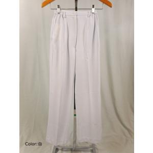 看護師 白衣 73-1321 女性パンツ サイズ:L(股下:67cm) 住商モンブラン(MONTBLANC)|gaw