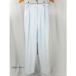 看護師 白衣 FY-4573 女性パンツ サイズ:L(股下:67) ナガイレーベン(NAGAILEBEN)|gaw